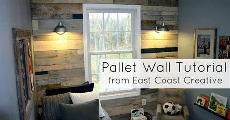 pallet wall room transformation hometalk