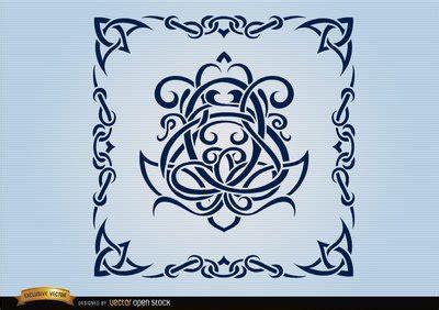 Cornici Celtiche Free Celtic Swirls Ornamental Frame Clipart And Vector