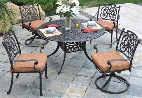 aluminum cast patio furniture