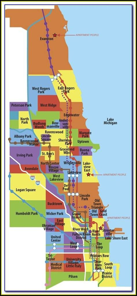 Map Of Chicago Neighborhoods Crime - map : Resume Examples ...