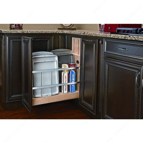 kitchen cabinet sliding organizers pull out base cabinet organizer richelieu hardware 5779