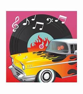 Rock N Roll Deko : rock 39 n 39 roll stilechte deko f r die 50er jahre mottoparty ~ Bigdaddyawards.com Haus und Dekorationen