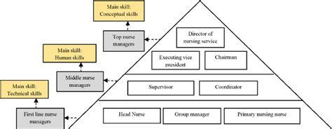 hierarchy  nursing managers  regard