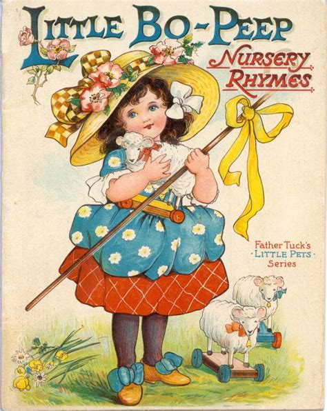 bo peep nursey rhymes tuckdb ephemera