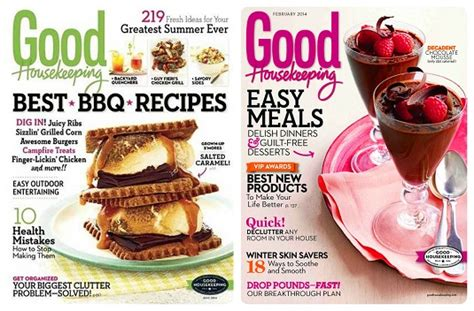 77699 Food Magazine Subscription Discount Code by Housekeeping Magazine Only 4 99 A Year Today Only