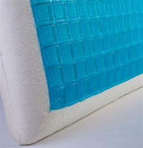 home sense cool gel memory foam standard sized comfort With coolsense pillow