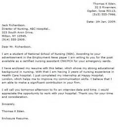 i am enclosing my resume for your consideration nursing cover letter exles cover letter now
