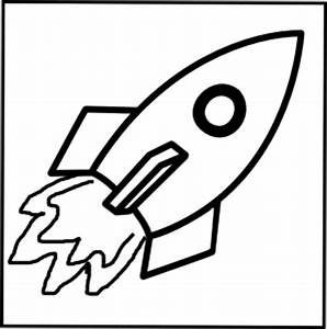 Rocket - Black And White Clip Art at Clker.com - vector ...