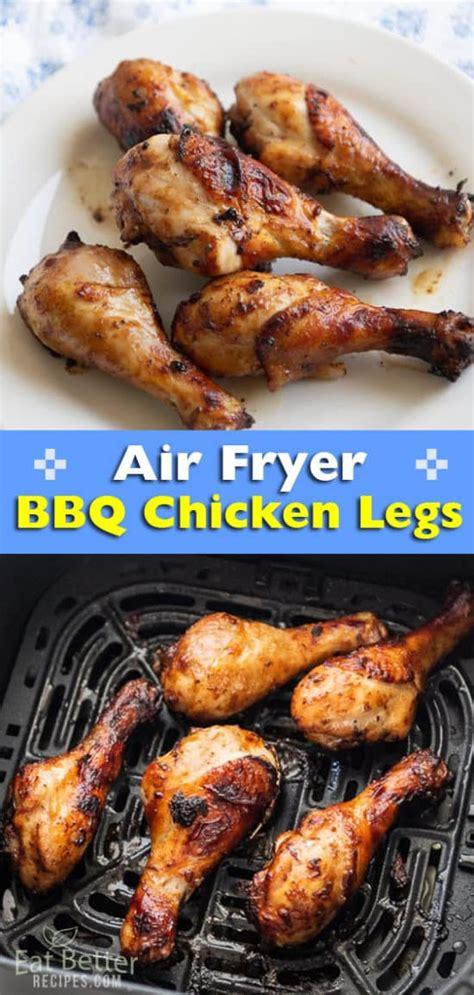 chicken air fried recipes sauce fryer better bbq legs drumsticks eating