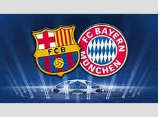 Barcelona v Bayern Munich Champions League 1st leg on FIFA