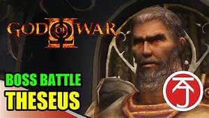 God Of War II - BOSS BATTLE: KRATOS VS THESEUS - YouTube