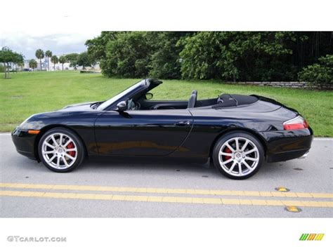 porsche 911 convertible black black 1999 porsche 911 carrera cabriolet exterior photo