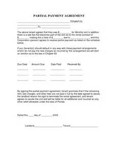 Late Rent Payment Agreement