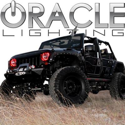 jeep halo lights oracle halo lights for jeep wrangler 2007 2016 jeep