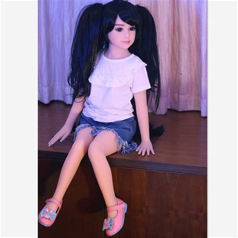 China Flat Chest Little Young Cute Girl Sex Doll 100cm China Real Love Doll And Silicone