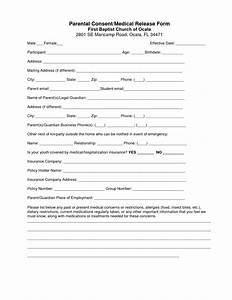 best photos of blank medical consent forms blank medical With parental medical consent form template