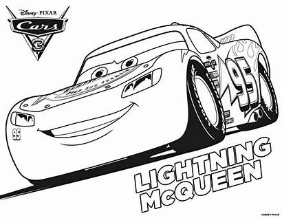 Mcqueen Lightning Coloring Printable Pages