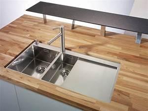 Holz Arbeitsplatte Küche : k chenplanung welche sp le eignet sich f r eine arbeitsplatte aus holz k chenfinder ~ A.2002-acura-tl-radio.info Haus und Dekorationen