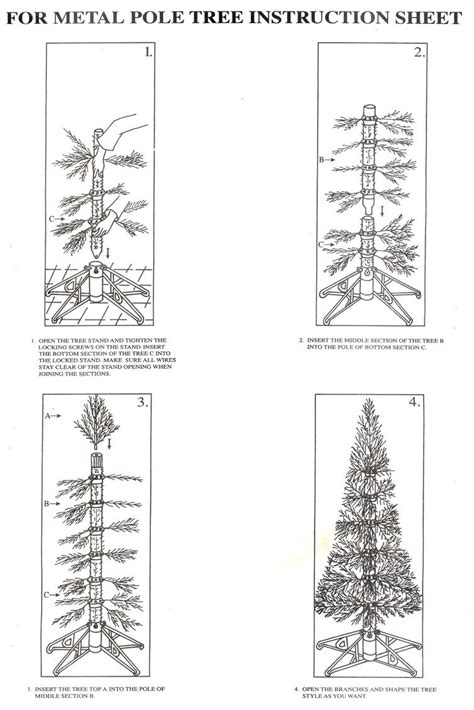 christmas tree assembly trees to luminate your season celebrate the season in style most