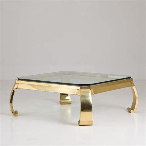 modern brass table l karl springer asian brass coffee table