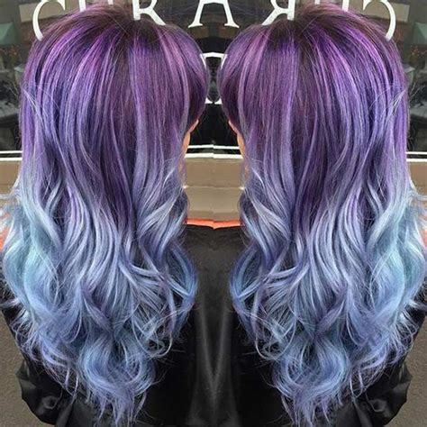 25 Amazing Blue And Purple Hair Looks Amazing Hair Color