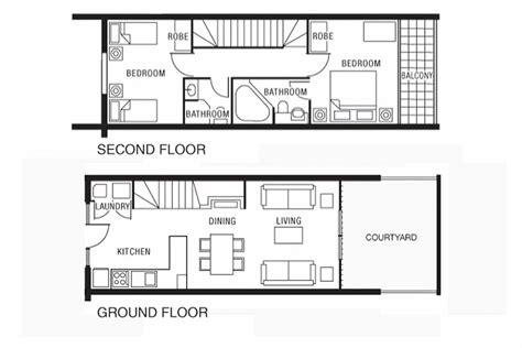N Duplex House Plans Sq Ft 20x30 2 Bedroom Apartment
