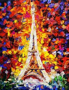 Peinture De Paris Poissy : peinture l 39 huile tour eiffel paris illustration stock ~ Premium-room.com Idées de Décoration