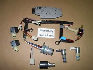Gm 4l60e Transmission Master Solenoid Kit Epc Shift Tcc