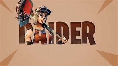 Raider Renegade Fortnite Wallpapers Desktop Backgrounds Pickaxe