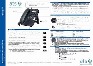 8018 Deskphone User Manual