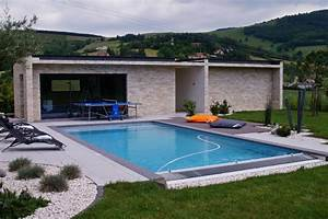 Pool house contemporain piscine lyon par piegay for Amenagement autour d une piscine hors sol 10 pool house contemporain piscine lyon par piegay