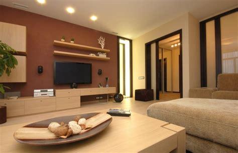 Wohnzimmer Farben Braun by Wandfarben Braunt 246 Ne Setzen Sie Auf Eine Universale Farbe