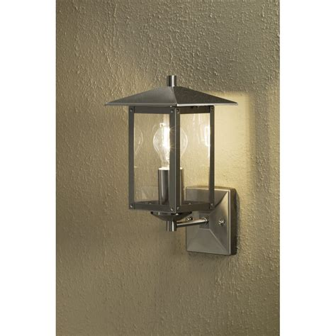 konstsmide sorrento single light outdoor wall light in