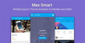 Maxsmart Multipurpose Responsive HTML For Mobile And