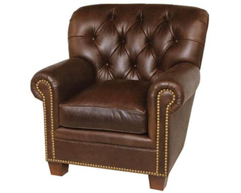 Classic Leather Fireside Chair 117786