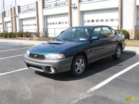 1999 Spruce Green Pearl Subaru Legacy L Sedan #15037491