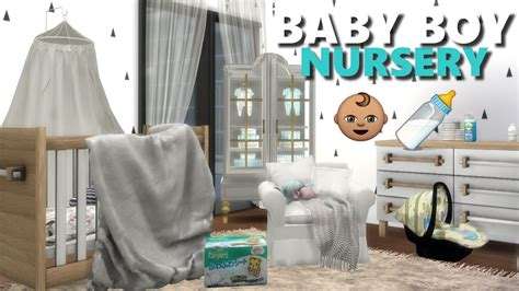 The Sims 4 L Nursery Room Finds + Cc List (crib,diapers