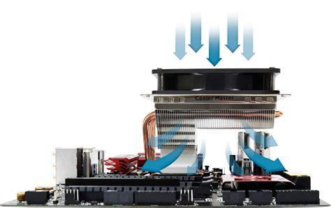 Optimized CPU Cooling Performance Top-Down Heatsinks
