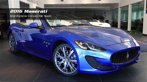 maserati grancabrio 2015 on the lot 2016 maserati granturismo convertible sport