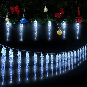 Guirlande Led Interieur : guirlande lumineuse 160 led no l bleu int rieur et ~ Preciouscoupons.com Idées de Décoration