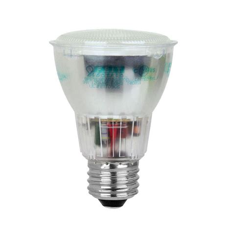 brightest outdoor flood light bulbs feit electric 50 watt equivalent bright white 3500k