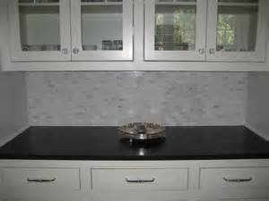 Black Granite with Backsplash