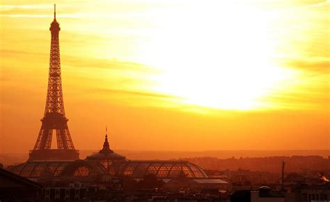 beautiful sunset  paris  mobile pictures  cities