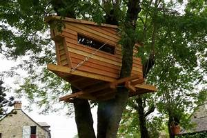 Comment Faire Une Cabane Dans Les Arbres : construire une cabane en bois chez soi avec pure aventure ~ Melissatoandfro.com Idées de Décoration