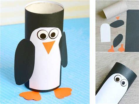 pingouin rouleau papier toilette 7 bricolages d hiver en rouleaux de papier toilette