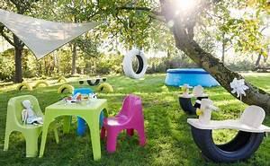 Salon De Jardin Pour Enfant : salon de jardin enfant s lection de mobilier outdoor c t maison ~ Teatrodelosmanantiales.com Idées de Décoration