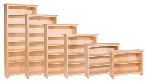 Unfinished Bookcases by Solid Wood Bookcases Aifaresidency