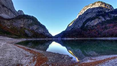 Lake Mountains 4k Surrounded Ultra Landscape Nature