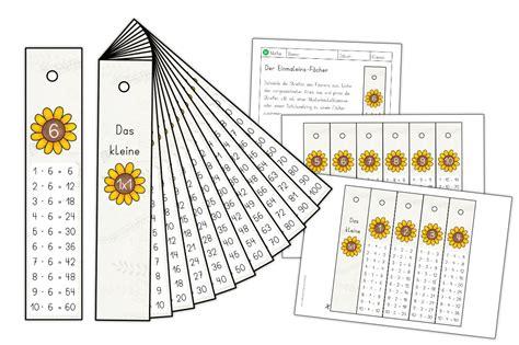Hier findest du arbeitsblätter zum ausdrucken. Kleines Einmaleins-Fächer   Mathe   Alle Materialien   Unterrichtsmaterial.shop