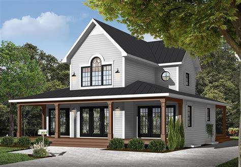 Modern Farm House Style House Plan 9845: Edgewater